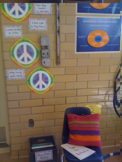 Brooke Peace Area in Gym