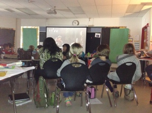 Travis Heights culture - lunch bunch movie watch