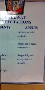Student AND Adult Expectations at Govalle Elementary
