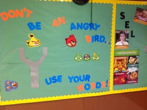Angry Bird SEL Bulletin Board