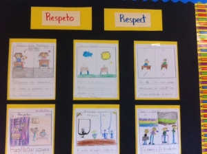 Bilingual Respect Writing Example